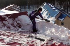 Очистка кровли от снега инструкции по от