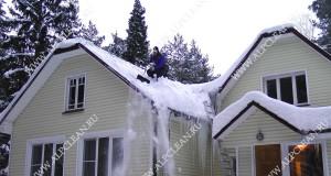 Уборка снега с крыш_ALPCLEAN.RU_ 15